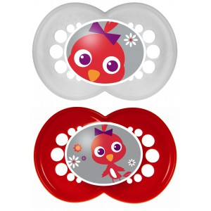 2 sucettes silicones animaux 18mois + boite stérilisation Mam - Gamme - Fille - Gamme - Garçon 2 - Gamme - Garçon 2