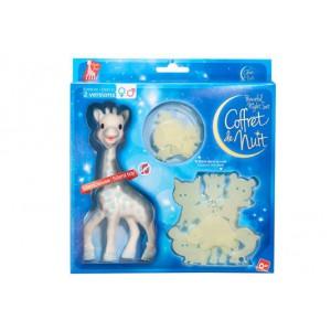 Coffret cadeau de nuit Sophie la girafe garçon
