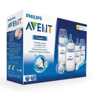 Kit naissance biberons classic + Philips Avent