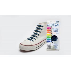 Lacet élastique shoeps bleu marine