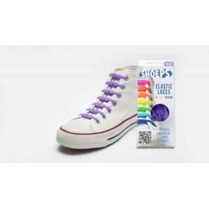 Lacet élastique shoeps violet