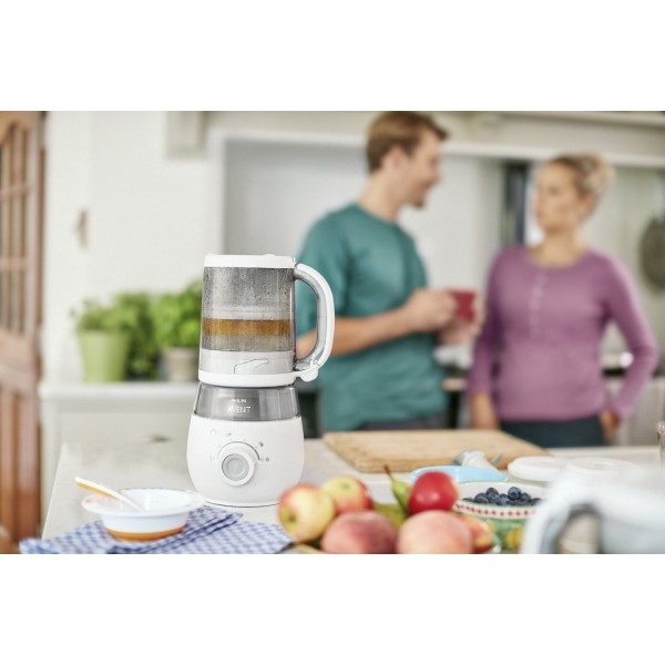 Nouveau robot culinaire maxisaveurs philips avent - Robot cuiseur philips ...