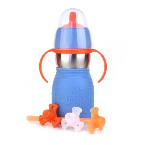 Tasse Skippy 2 bleu 330ml Kid Basix