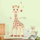 Stickers géant Sophie la girafe