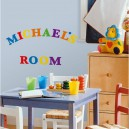 Stickers alphabet couleur 73pc