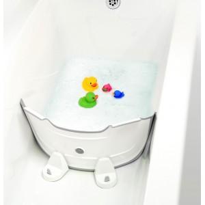Réducteur de baignoire Babydam gris