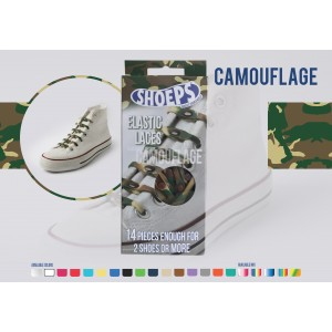Lacet shoeps camouflage Limited