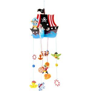 """Mobile d'éveil """" Rêve de pirate """""""