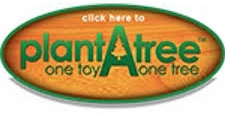 Participez à l'action plantez un arbre avec Ever Earth en achetant un jouet bois eco responsable